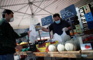 イタリアの市場