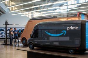 リビアン社が開発したアマゾン向けの配達用EVバン