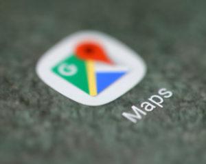 グーグルマップのロゴ