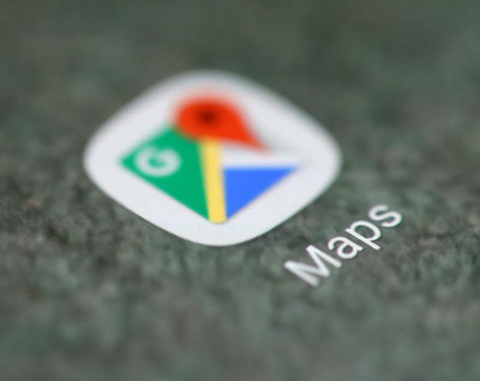 グーグルマップのアイコン