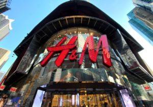 H&M ニューヨーク、タイムズ・スクエアの店舗