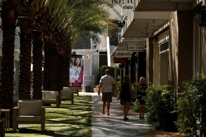 米アリゾナ州フェニックス商店街
