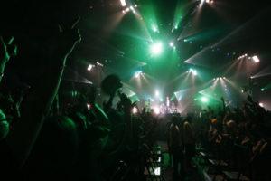 千葉市で行われたライブ会場