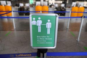 フランクフルトの空港