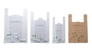 ファミマのバイオマス素材を30%配合した有料レジ袋