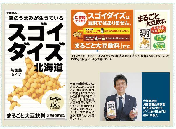 大塚食品㈱「スゴイダイズ」