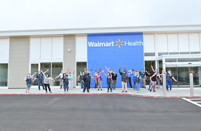ジョージア州ローガンビルにオープンした「ウォルマート・ヘルス」