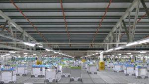 米クローガーの自動配送センター