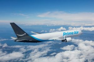 米アマゾンの貨物機