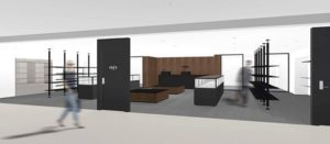 良品計画の家具・インテリアブランド「イデー(IDEE)」新業態「IDEE TOKYO」のイメージ図