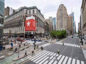 ニューヨーク市にあるメ―シーズの外観