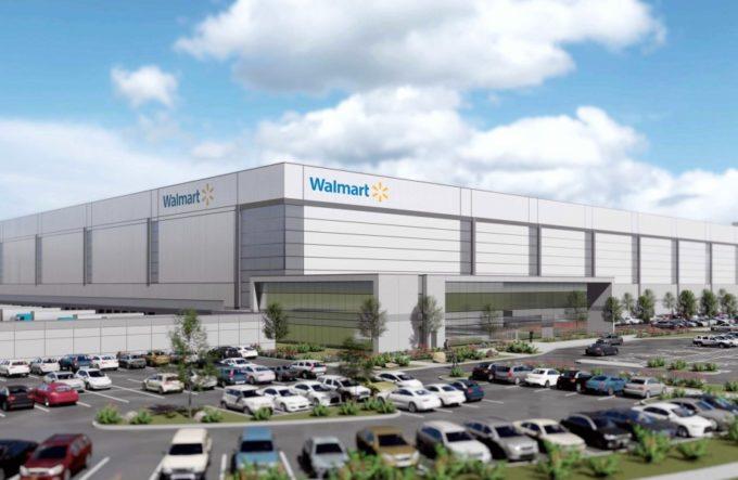 ウォルマートの次世代型物流センター完成予想図
