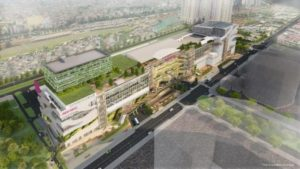 ベトナムで7号店となるショッピングセンター「イオンモール ホアンマイ(Hoang Mai)」完成イメージ図