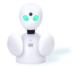 オリィ研究所が開発した小型の「分身ロボット」