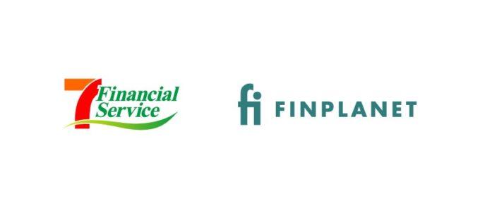 セブン・フィナンシャルとフィンプラネットのロゴ