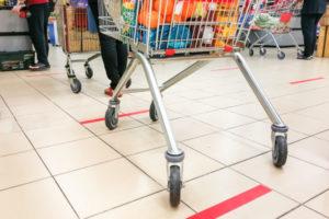 コロナ禍におけるスーパーの取り組み