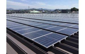 バローの2店舗に設置された太陽光発電システム
