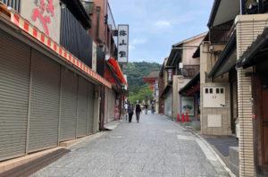 京都・清水寺近くの通り