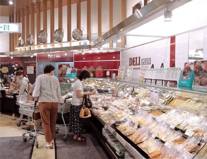 平和堂が得意としてきた天ぷらやフライものなどのバラ売りコーナー