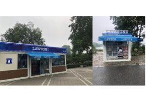ローソンが中国でプレハブ型店舗をオープン