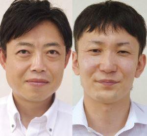 平和堂 生鮮食品事業部デリカ課課長の石井雅樹氏と同チーフバイヤーの村上智亮氏