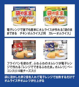 ニッポンハム「袋のままできるオムライス」