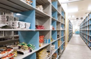 Amazonフレッシュで扱う商品の配送拠点となる川崎フルフィルメントセンター