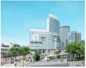 桜木町駅前広場に面した「コレットマーレ」完成イメージ