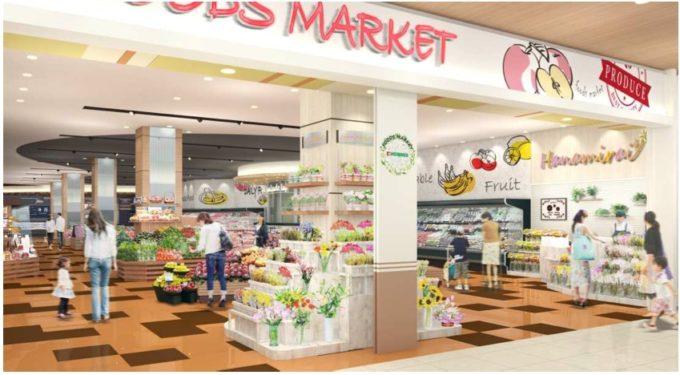 大型SC「ららぽーと愛知東郷」にオープンする平和堂の食品スーパー「平和堂 ららぽーと愛知東郷店」