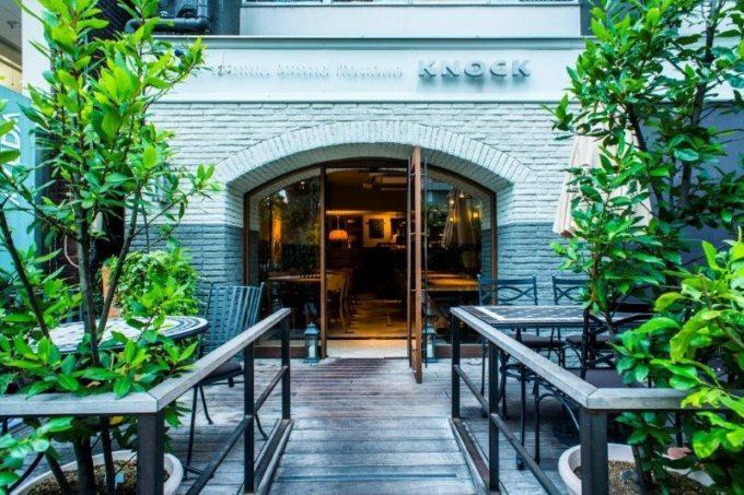 東京・六本木をはじめ都内に 4 店舗を展開する「ノック クッチーナ ボーナ イタリアーナ」。写真は六本木店
