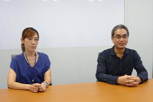 今後も機能強化を継続するとする倉本氏(右)と中山氏(左)