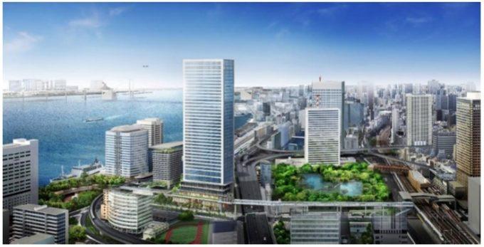 「東京ポートシティ竹芝」イメージ図