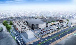 大型商業施設「春日井商業プロジェクト」(仮称)の完成イメージ