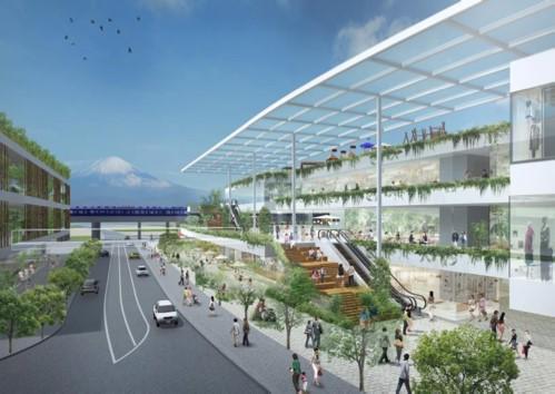 相鉄グループが横浜・ゆめが丘駅前に開発をする、大規模商業施設の完成イメージ