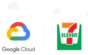 セブンイレブンとグーグルクラウドのロゴ
