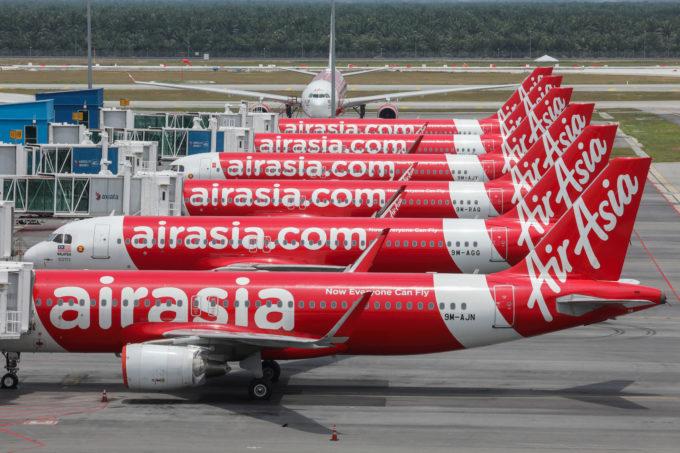 エアアジアグループの飛行機