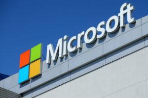 マイクソフトのロゴ