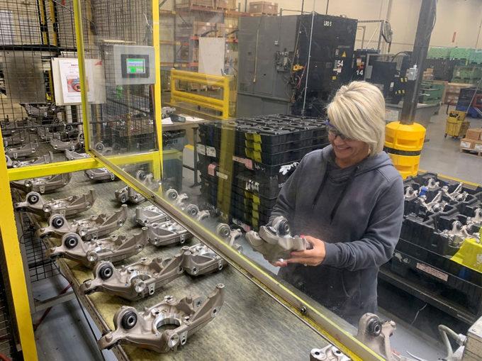 米ミシガン州ポートヒューロンの自動車部品工場