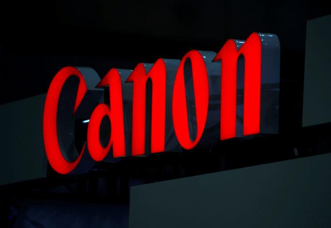キャノンのロゴ