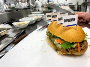 インポッシブル・フーズの植物由来の肉を使った製品