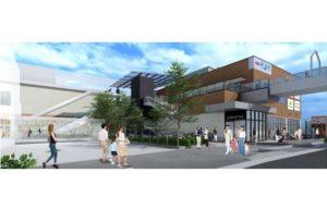 大阪府堺市の旧「イオン都市型ショッピングセンター(SC)「イオンそよら新金岡」の完成イメージ