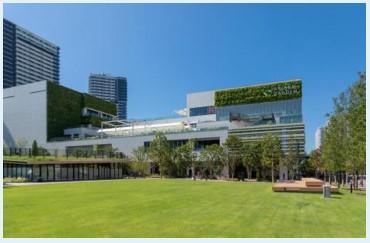 大型商業施設「京都河原町ガーデン」の完成イメージ