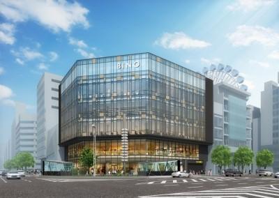 商業施設「BINO栄」の完成イメージ