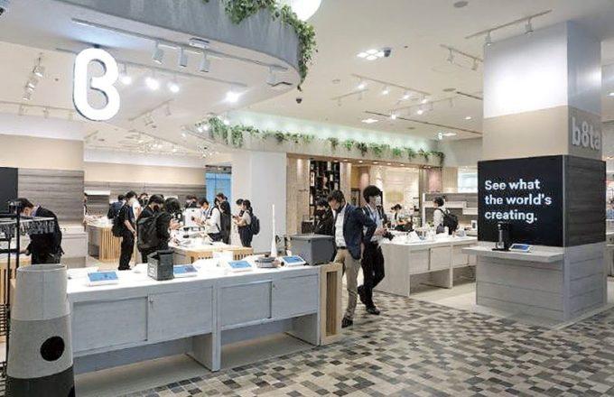 「新宿マルイ本館」に今年8月にオープンしたb8ta店舗