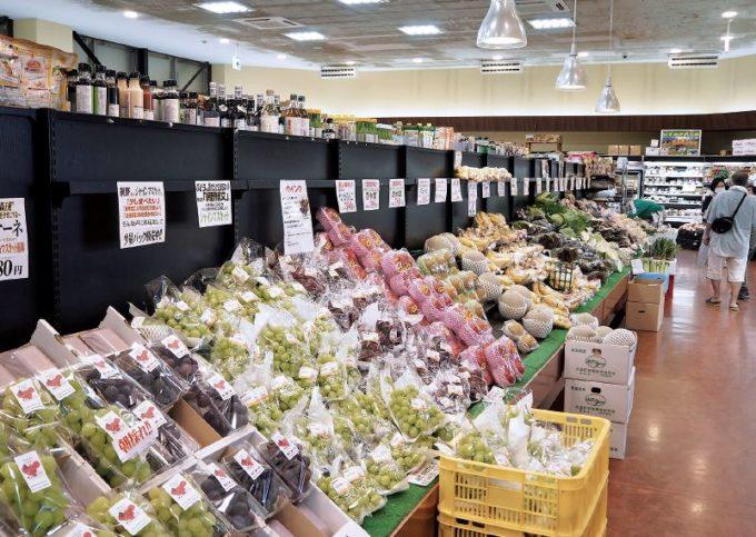 山梨県北杜市に店を構えるひまわり市場