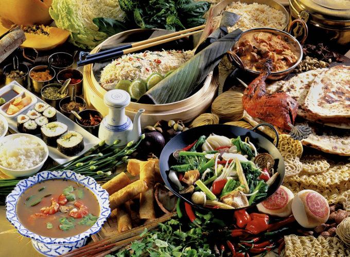 エスニック料理イメージ