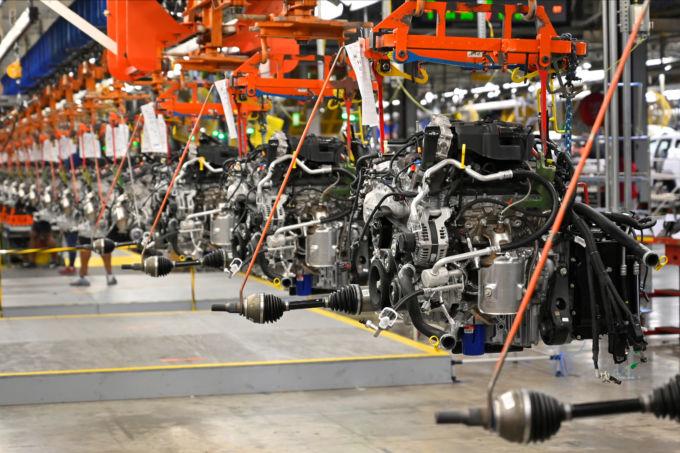 米テネシー州の工場内