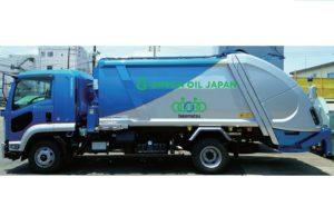 セブンイレブンがペットボトル回収車でユーグレナが供給するバイオディーゼル燃料の使用を始めた(アイキャッチ)