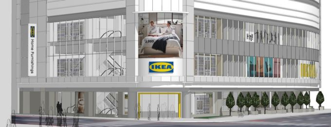 「IKEA新宿」の外観イメージ