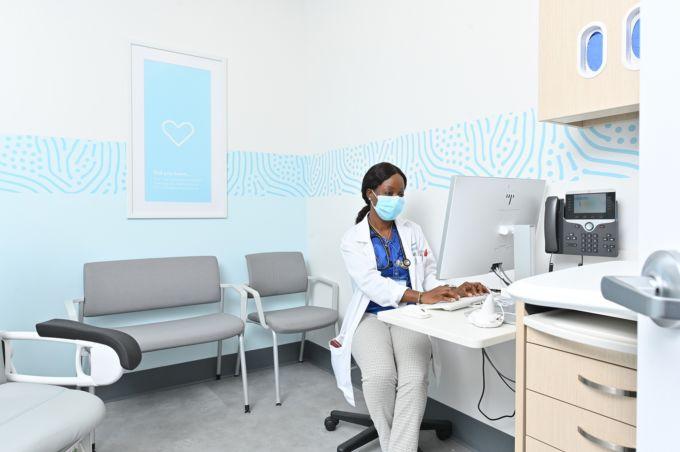 ウォルマート ヘルスの診察室